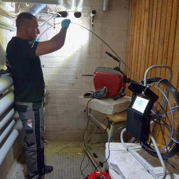 Kamerainspektion bei Rohrreinigung Wilmersdorf